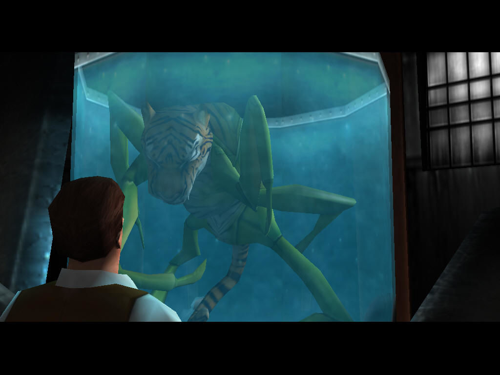 Impossible Creatures Windows From the Intro movie: the first contact with an hybrid!