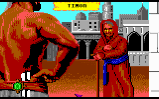 Sinbad and the Throne of the Falcon Commodore 64 Hello, old person.
