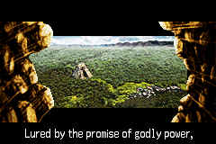 Lufia: The Ruins of Lore Game Boy Advance Zooming to playfield