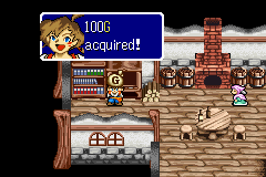 Lufia: The Ruins of Lore Game Boy Advance Gold may be found in town's houses