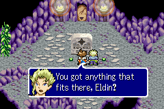 Lufia: The Ruins of Lore Game Boy Advance You should find the stone fragment to open the door