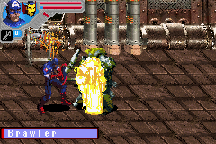 Marvel Ultimate Alliance Game Boy Advance Exploding enemies
