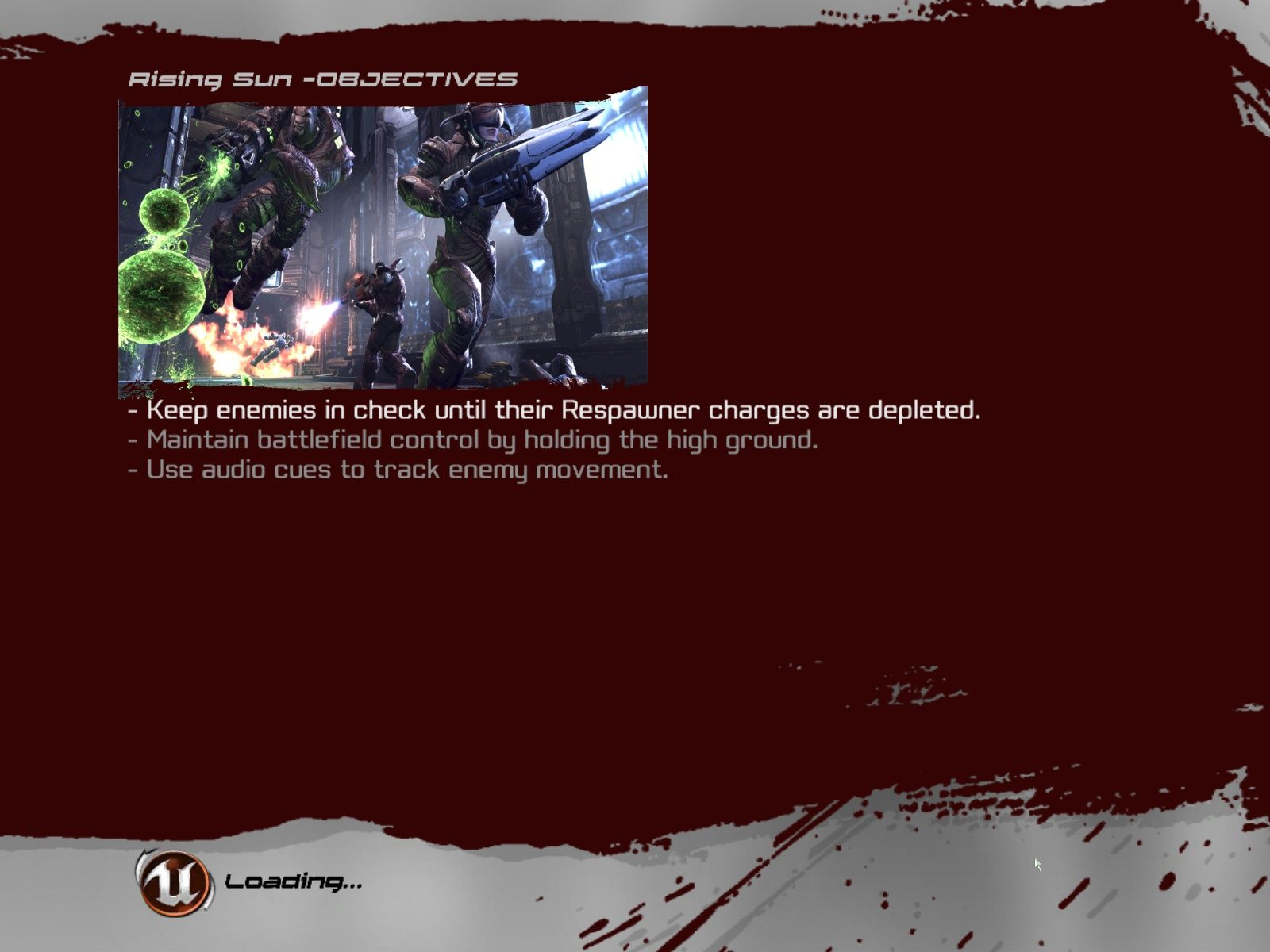 Unreal Tournament III Windows Loading screen