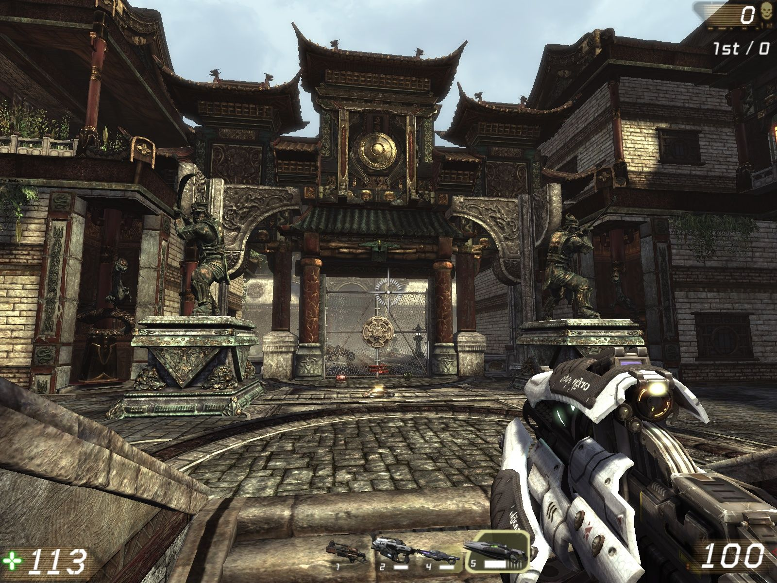 Unreal Tournament III Windows The graphics are quite good.