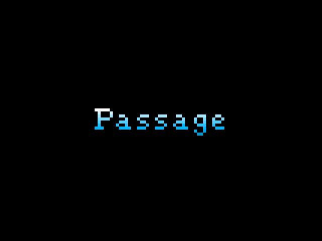 Passage Windows Title screen