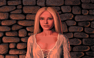 Defender of the Crown Amiga The Saxon lady Anne