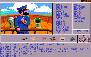 Mindshadow Amiga The captain of the ship.