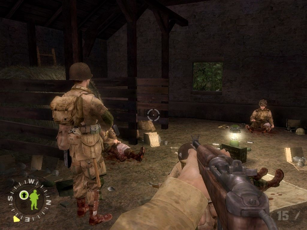 Brothers in Arms: Earned in Blood Windows Need to get on with the second mission.
