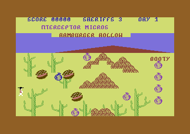 Bandana City Commodore 64 Hamburger Hill