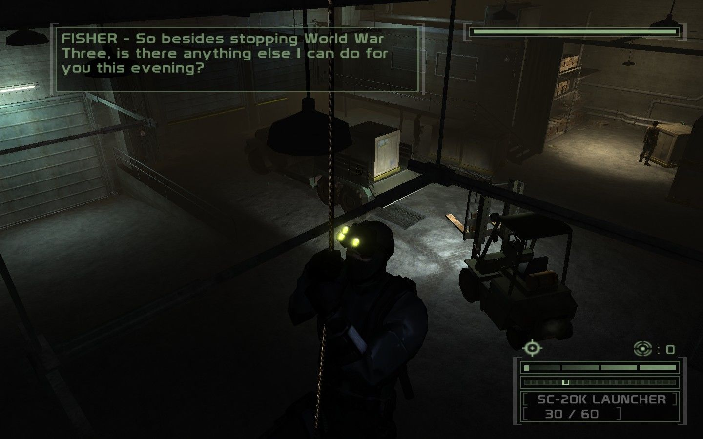 Tom Clancy S Splinter Cell Chaos Theory Screenshots For Windows