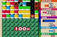 Mr. Driller WonderSwan Color 100m down!