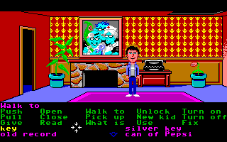 Maniac Mansion Amiga My name is Dave, and I'm in the Maniac Mansion!