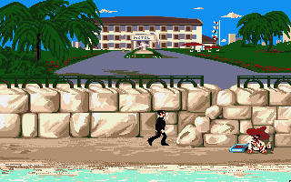 007: James Bond - The Stealth Affair Amiga Let's talk to that guy.