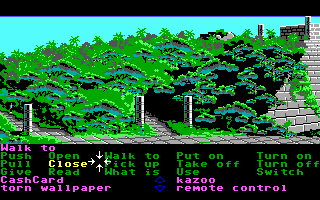 Zak McKracken and the Alien Mindbenders DOS Near Mayan ruins