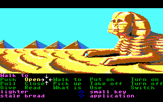 Zak McKracken and the Alien Mindbenders DOS In Egypt