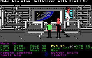 Zak McKracken and the Alien Mindbenders Commodore 64 Meeting with the king, Elvis!