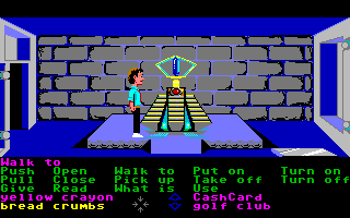 Zak McKracken and the Alien Mindbenders Amiga The blue crystal.