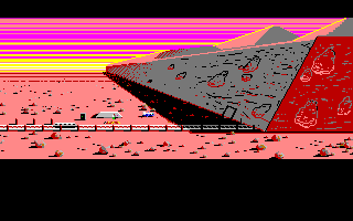Zak McKracken and the Alien Mindbenders Amiga The Martian landing site...