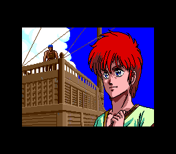 Ys III: Wanderers from Ys TurboGrafx CD Adol