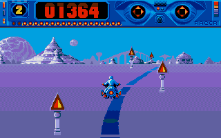 Space Racer Atari ST In the first part of level one