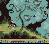 Rayman Game Boy Color Ancient Forest