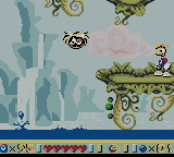 Rayman Game Boy Color The water level rises in this stage