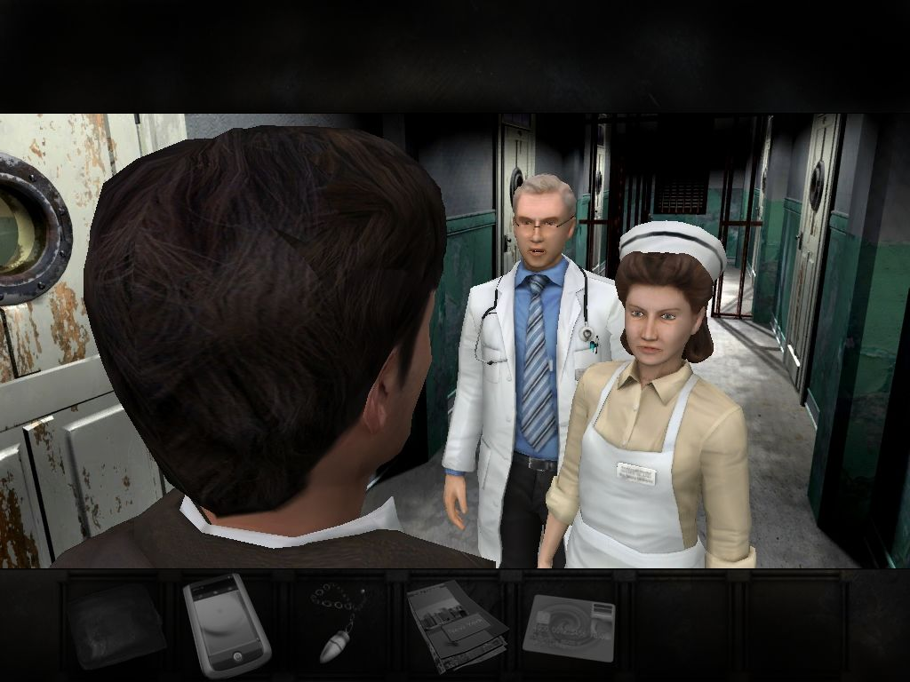 Overclocked: A History of Violence Windows Chapter 1: talking to the doctor at the asylum.