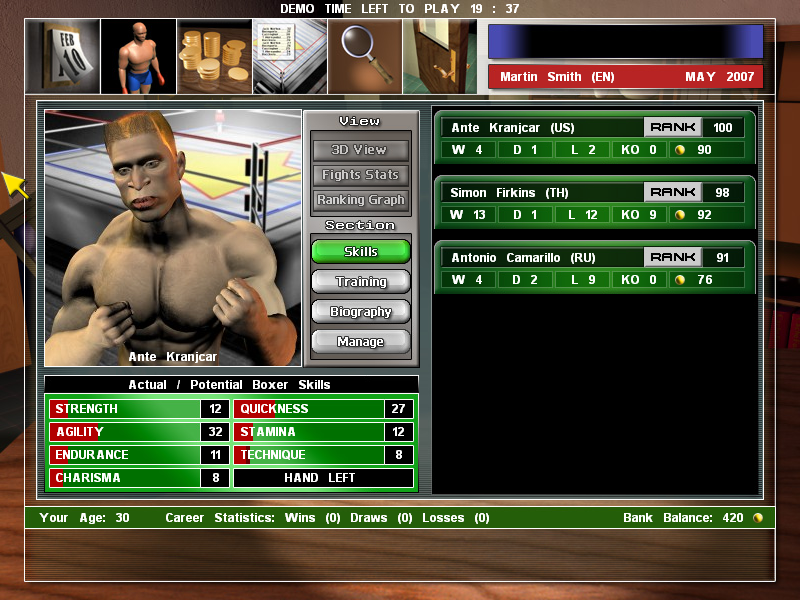 Universal Boxing Manager 3