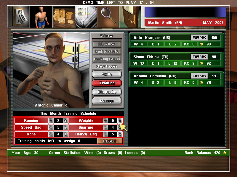 Universal Boxing Manager 2