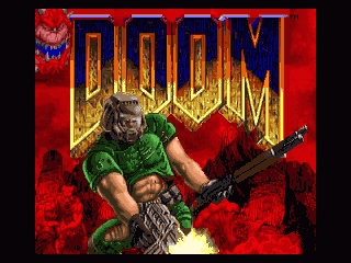 DOOM SNES Title screen