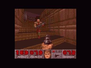 DOOM SNES A grunt, up close and personal