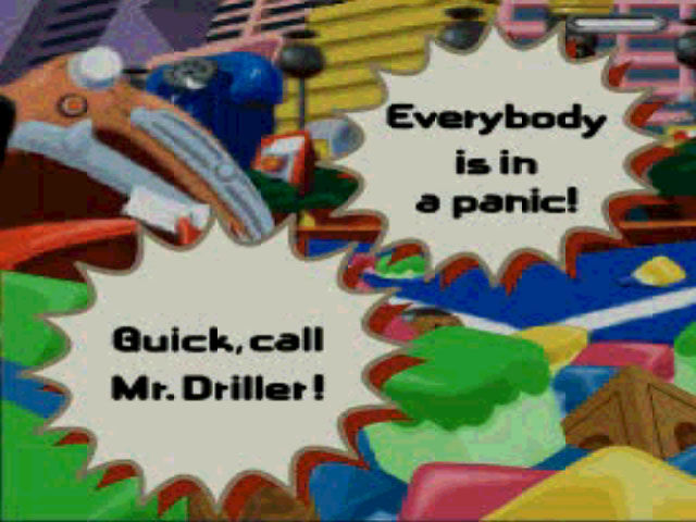 Mr. Driller PlayStation Who you gonna call?! Ghos... Mr. Driller!