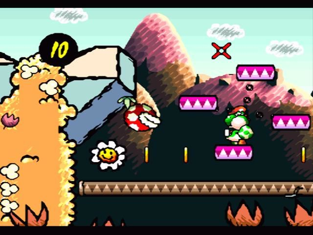 Image result for yoshi's island screenshots