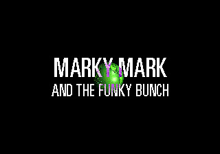 Make My Video: Marky Mark and the Funky Bunch SEGA CD Title screen