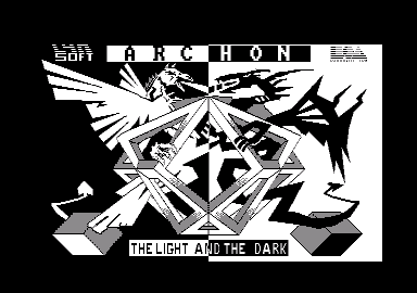 Archon: The Light and the Dark Amstrad CPC Title screen