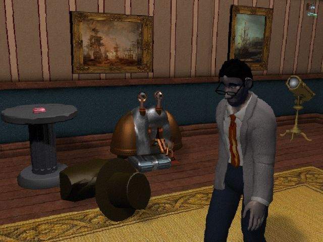 Y2K: The Game Windows Man, I'll bet Lara isn't having these problems at her estate.