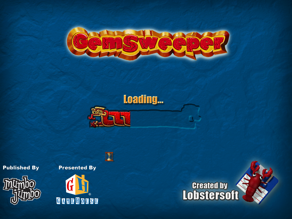 Gemsweeper Windows Loading screen