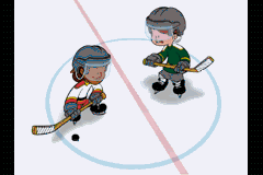 Backyard Hockey Game Boy Advance Intro