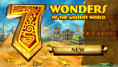 7 Wonders of the Ancient World Game | PSP - PlayStation