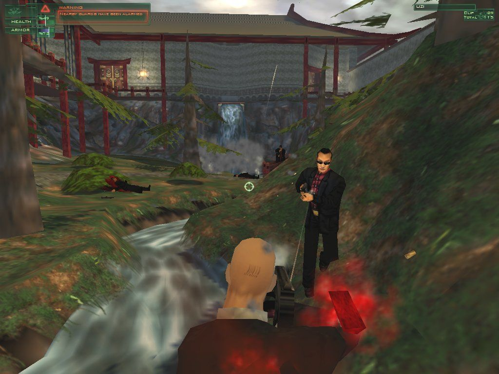 Hitman: Codename 47 Windows Green is not Rieper's preferred color. He much prefers arterial red.