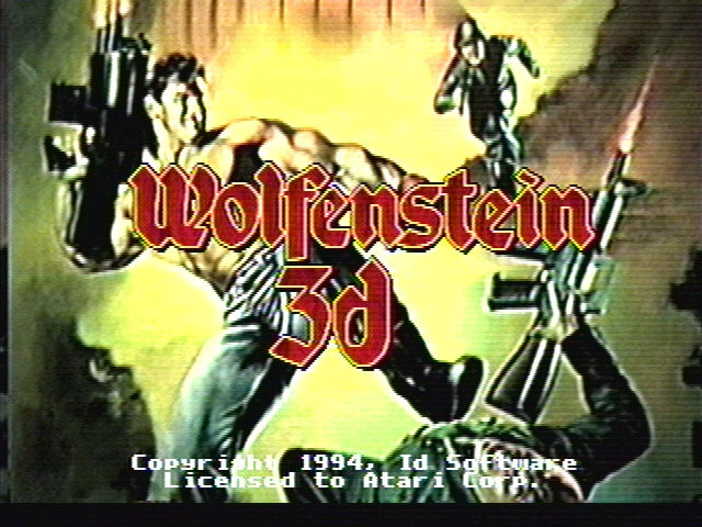 Wolfenstein 3D Jaguar title screen