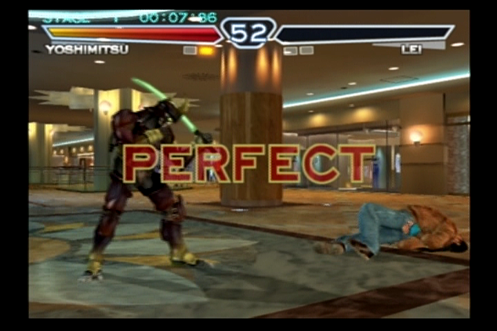 Tekken 4 PlayStation 2 Perfect round!