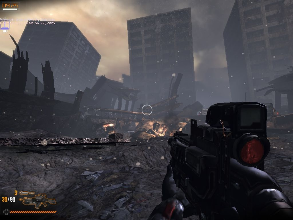 Warmonger: Operation: Downtown Destruction Windows Fighting in the destroyed city