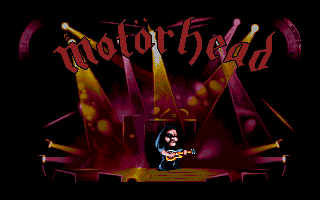 Motörhead Amiga Without his fellow band members, Lemmy is forced to play the concert alone.
