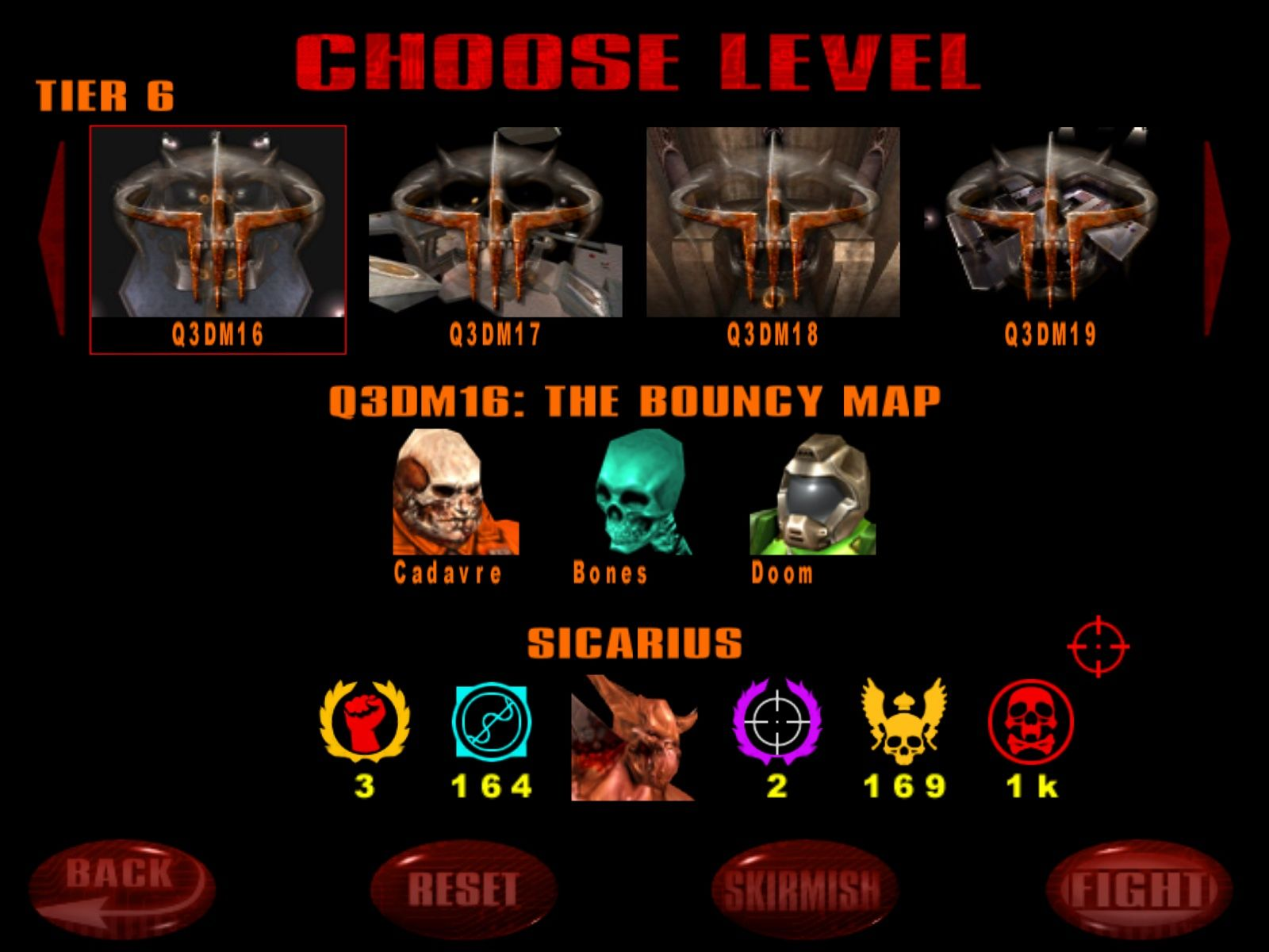 Quake III: Arena Windows Choose your fight.