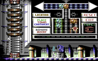 Another World Commodore 64 Combine the right crystals to use the teleporter