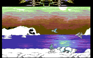 Another World Commodore 64 An ice bear