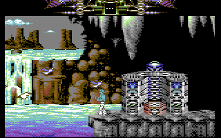 Another World Commodore 64 Can't continue in that direction