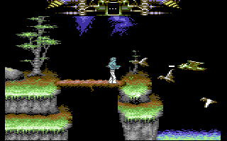 Another World Commodore 64 More flying enemies