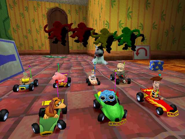 Toy Story Racer : Disney pixar toy story racer screenshots for playstation